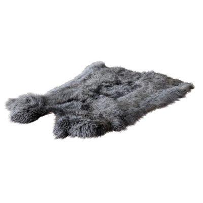 konijnenvel grijs