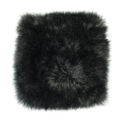 Kussenhoes Tibetaans lam zwart