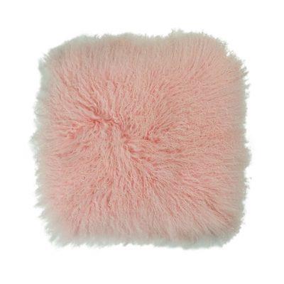 KussenTibetaans lam pink