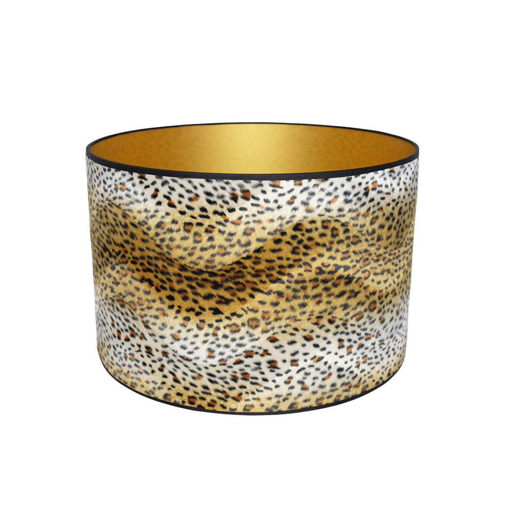 Lampenkap luipaardprint