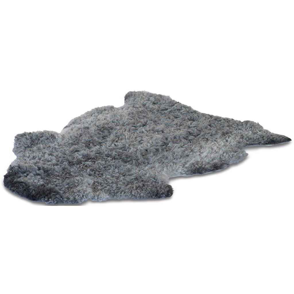 Gotland schapenvacht met natuurlijke grijze krul