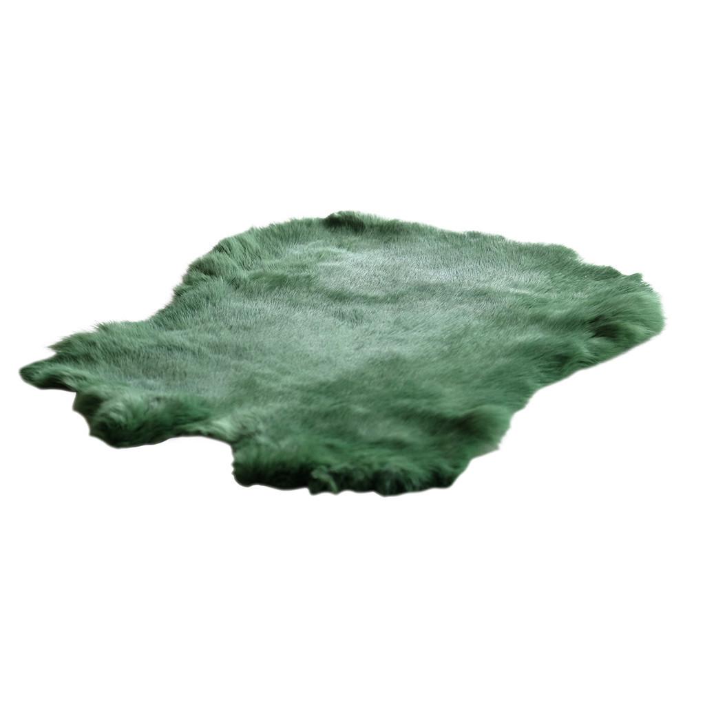 Konijnenvacht groen