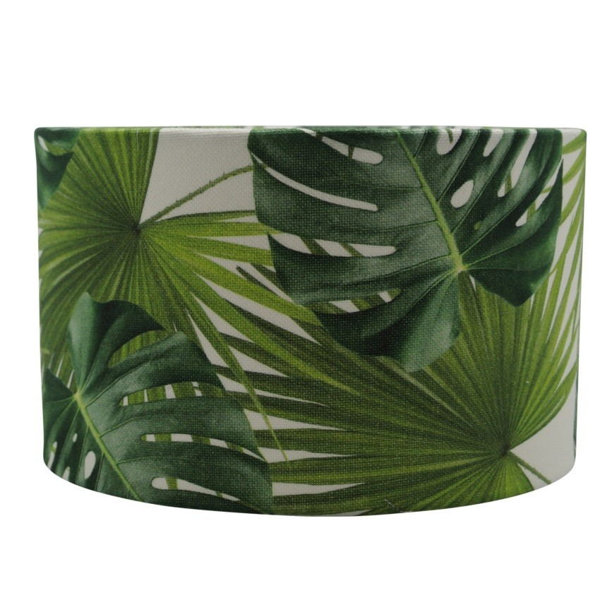 lampenkap jungle print | plantenprint lampenkap