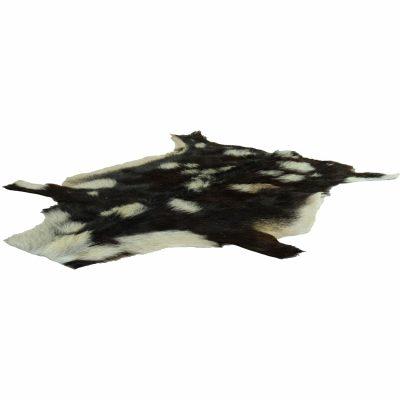 Gevlekte geitenhuid zwart wit