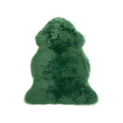 groene schapenvacht