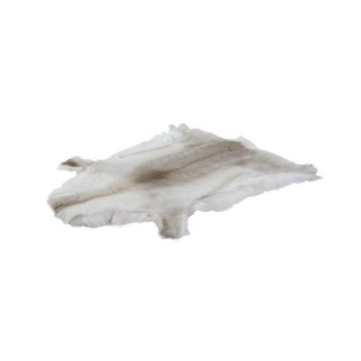 Rendierhuid wit