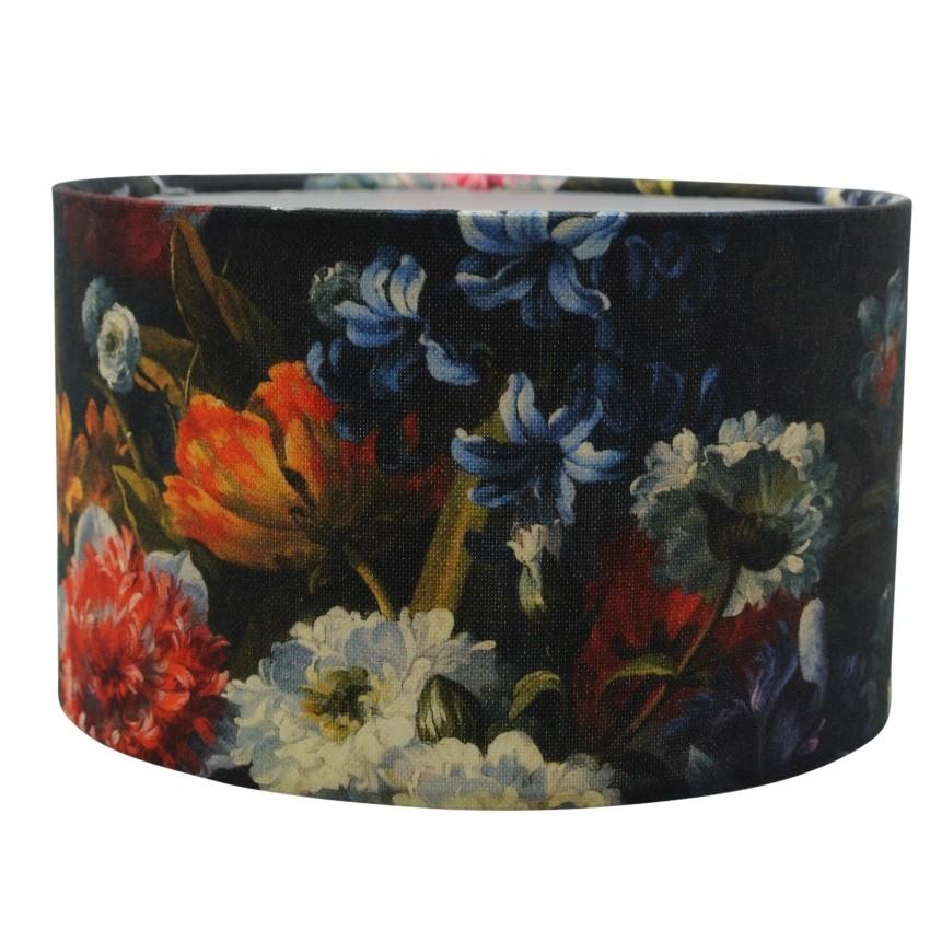 Bloemen lampenkap | bloemenprint lampenkap
