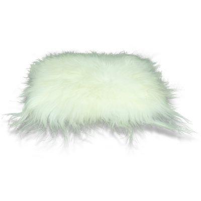 wit stoelkussen ijslandse schapenvacht