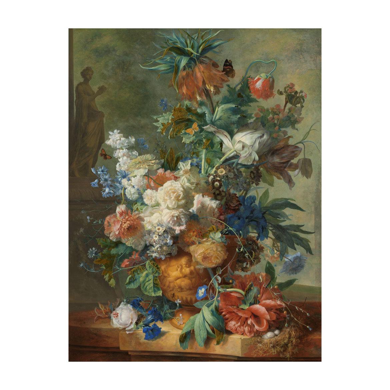 oud schilderij van hollandse schilderij