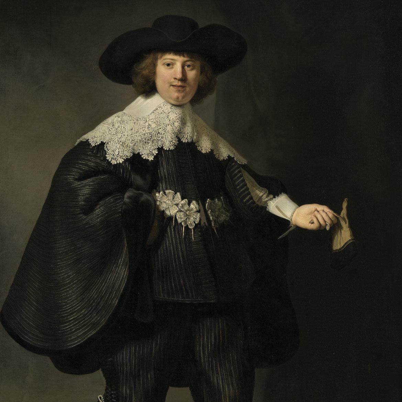Rembrand van Rijn schilderij als wanddecoratie