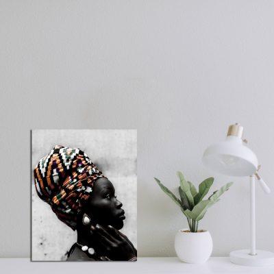 Fotoprint Afrikaanse vrouw
