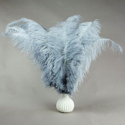 Grijze struisvogelveren   decoratieve veren   decoratie veren