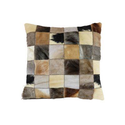 Kussenhoes patchwork afrikaanse dieren