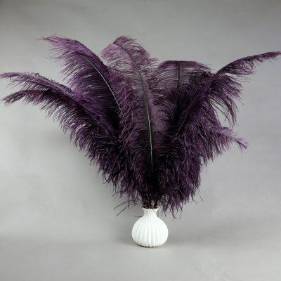 Paarse struisvogelveren   decoratieve veren   decoratie veren