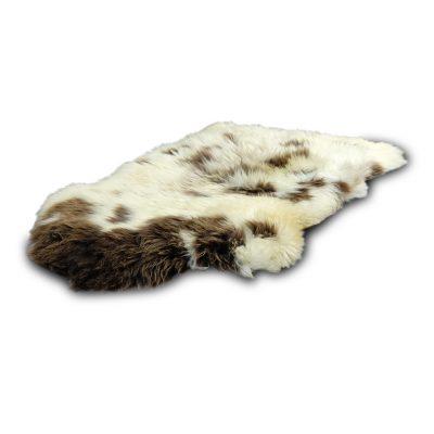 schapenvacht bruin wit