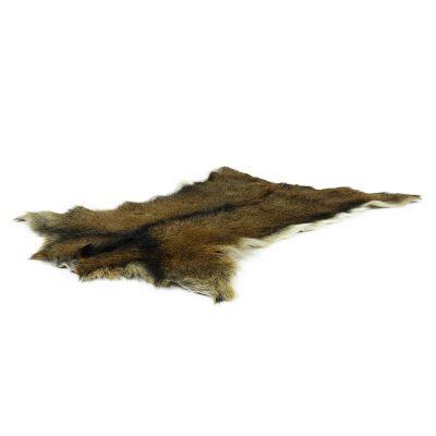 geitenvel bruin met natuurlijke zwarte streep