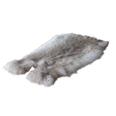 konijnenbontje grijs