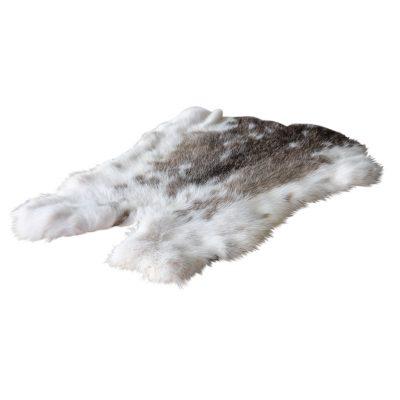 konijnenvacht bruin wit