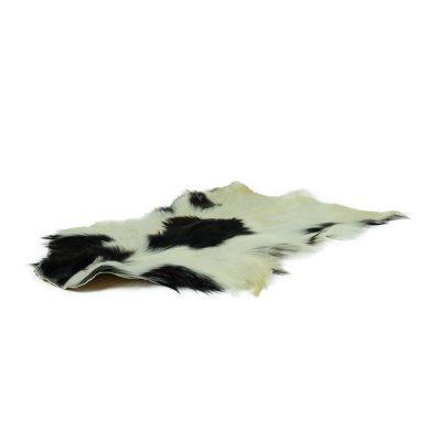 geitenvel zwart wit gevlekt