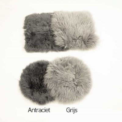 stoelpads grijs en antraciet