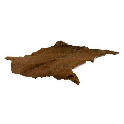 geitenvel roest bruin