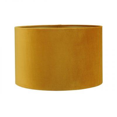 velvet oker gele lampenkap