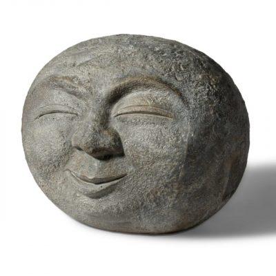 Aardewerk boeddha hoofd