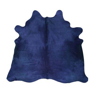 Koeienhuid blauw