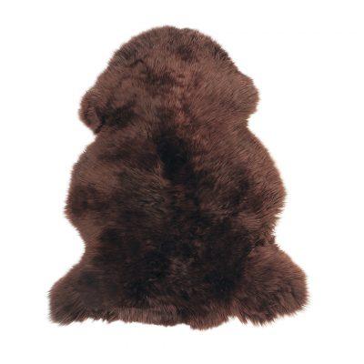 Schapenvacht donker bruin