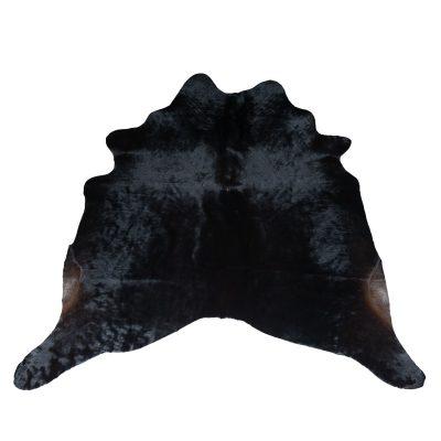 zwarte koeienhuid natuur