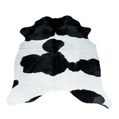 Klein koeienvel zwart wit