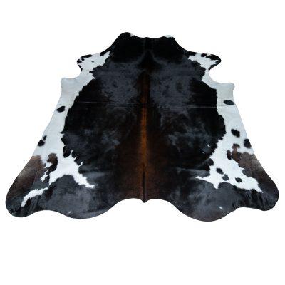 Groot koeienvel zwart bruin wit