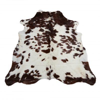 Wit bruin gevlekt koeienvel