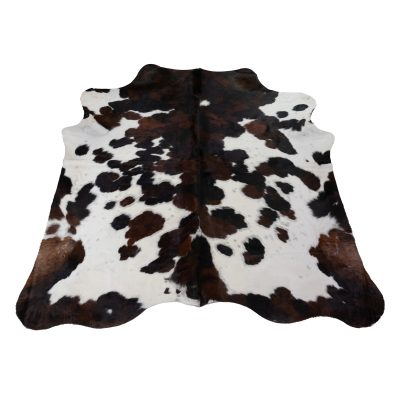 Koeienhuid wit bruin zwart