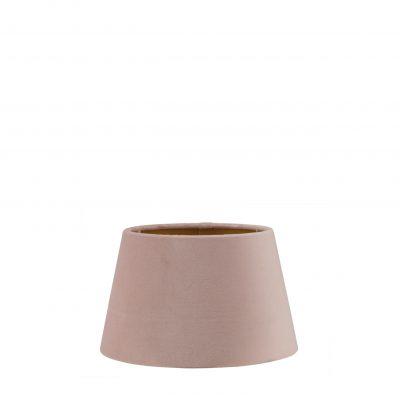 Roze velvet lampenkap