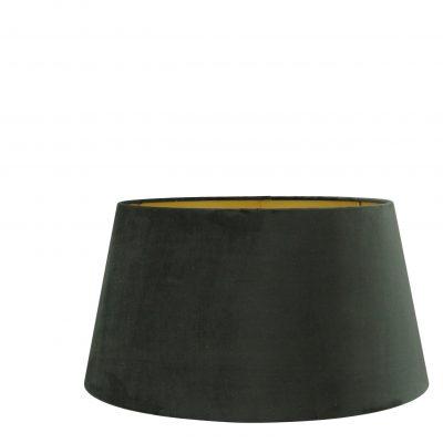 Zwarte velvet lampenkap