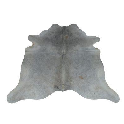 Koehuid kleed grijs beige