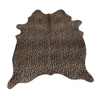 Koeienhuid met luipaard print