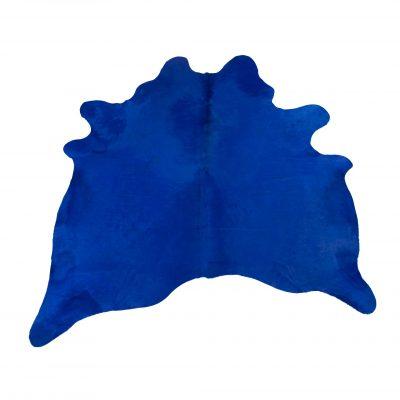 Koeienhuid cobalt blauw