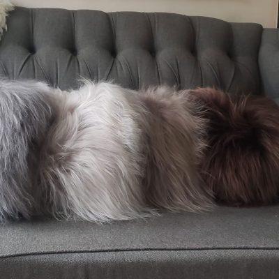 schapenvacht kussens