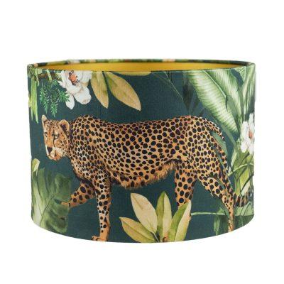 Lampenkap met luipaard