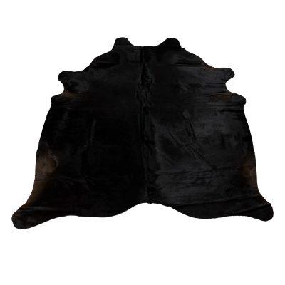 natuurlijk zwarte koeienhuid